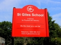 St Giles Sign